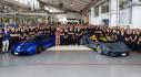 Lamborghini xuất xưởng chiếc Aventador thứ 8.000 và Huracan thứ 11.000