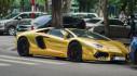 Hà Nội: Lamborghini Aventador Roadster bất ngờ đổi màu áo mới
