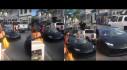 """[VIDEO] Chơi trội, chàng trai """"hi sinh"""" cả kính chắn gió của xế cưng Huracan để tạo dáng"""