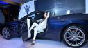 Hồ Ngọc Hà lái xe mui trần sang trọng Maserati GranCabrio Sport 2018 ra mắt khách hàng Việt
