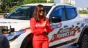Khách hàng Mitsubishi trải nghiệm cùng nữ hoàng drift Leona Chin tại Mỹ Đình