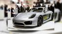 Xe điện Porsche Cayman Electric Concept trình diễn hệ thống sạc Turbo Charging mới
