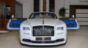 Ngắm Rolls-Royce Dawn Black Badge Trichromatic nổi bật tại Abu Dhabi