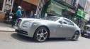 Sài Gòn: Rolls-Royce Wraith màu xám dạo phố sau thời gian dài ở ẩn