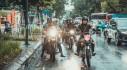 Đội hình Royal Enfield Club diễu hành xóa tan giá lạnh của ngày đông Hà Nội