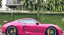 Ruby Star Porsche Cayman GT4 là một viên ngọc đẹp không tì vết ở Băng Cốc