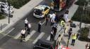 Lái xe chạy trốn cảnh sát lao lên vỉa hè đâm chết người đi xe đạp