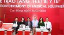 Quỹ Toyota Việt Nam trao tặng thiết bị y tế tại Cao Bằng