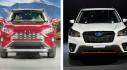 Triển lãm Ô tô New York 2018 trở thành ''chiến trường'' của Toyota RAV4 và Subaru Forester 2019
