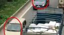 Đã xác định xe chạy ngược chiều trên cao tốc để xử phạt