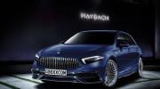 Mercedes-Benz A-Class Maybach dưới ngòi bút của nghệ sĩ Aksyonov Nikita