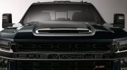 Chevrolet nhá hàng khuôn mặt của xe bán tải Silverado HD 2020 hoàn toàn mới
