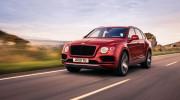 Bentley Bentayga V8 chính thức được vén màn với bộ phanh lớn nhất thế giới