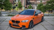 BMW M5 Fire Orange