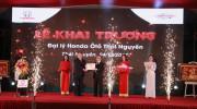 Honda Ôtô Thái Nguyên - Đại lý đạt tiêu chuẩn 5S thứ 22 trên cả nước khai trương
