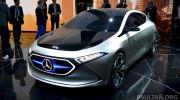 Mercedes-Benz Concept EQ A - mẫu hatchback điện của tương lai trình làng
