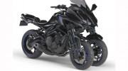 Mô tô 3 bánh Yamaha MT-09 Trike sẽ được chính thức bán ra vào năm 2018