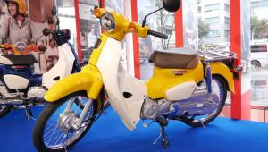 Hình ảnh thực thế của Honda Super Cub 2018 tại đại lý Nhật Bản