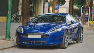 Aston Martin Rapide xanh ngọc bất ngờ tái xuất tại Hà Nội