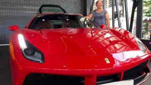 Ca sĩ Tuấn Hưng tậu Ferrari 488 GTB đỏ rực 15 tỷ đồng
