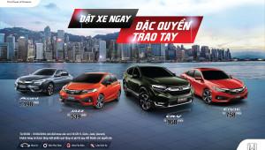 HVN cống bố giá 4 mẫu xe nhập khẩu, Honda CR-V giảm 188 triệu, giá từ 958 triệu đồng