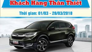 Honda Việt Nam triển khai chương trình dịch vụ Khách hàng thân thiết từ ngày 01/03 đến ngày 28/03