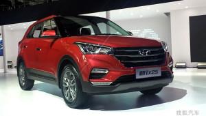 Hyundai Creta facelift (ix25 2017) chính thức ra mắt khách hàng Trung Quốc
