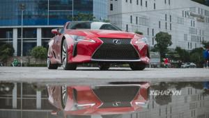 Chi tiết Lexus LC500 2018 đầu tiên về Việt Nam