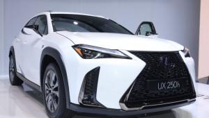 Crossover cỡ nhỏ hoàn toàn mới Lexus UX chính thức lộ diện