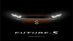 Hình ảnh nhá hàng của đàn em Suzuki Vitara - Maruti Future S Concept