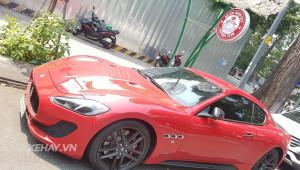 Tóm gọn Maserati GranTurismo Sport dạo phố ngày đầu năm tại Sài Gòn