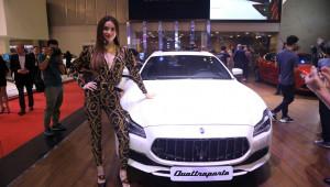 Maserati ra mắt Quattroporte Granlusso GTS mới và loạt xe đình đám tại VMS 2018
