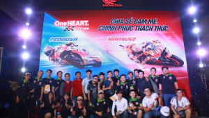 Honda Việt Nam tiếp tục đồng hành cùng chặng 13 giải đua MotoGP 2018 tại thành phố biển Đà Nẵng