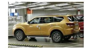 Nissan Paladin 2018 - mẫu SUV 7 chỗ đối thủ của Toyota Fortuner lộ diện trong nhà máy