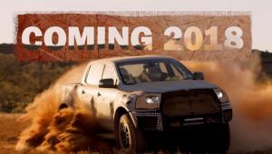 Bán tải hiệu suất cao Ford Ranger Raptor 2018 sẽ ra mắt vào ngày 7/2/2018