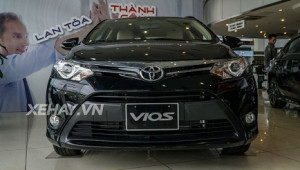Toyota Vios CKD tại Việt Nam chỉ còn từ 484 triệu đồng từ ngày 1/11/2017
