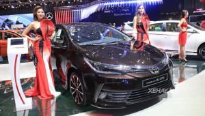 Toyota Corolla Altis vượt mặt Kia Cerato quay trở lại top 10 xe bán chạy tháng 11/2017