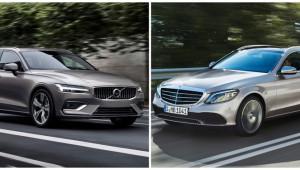Cuộc chiến cân sức của Volvo V60 và Mercedes-Benz C-Class Wagon mới