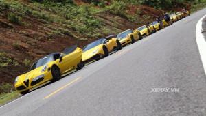 Giới chơi xe hứng khởi với hành trình siêu xe 1000 km của Vietnam Team