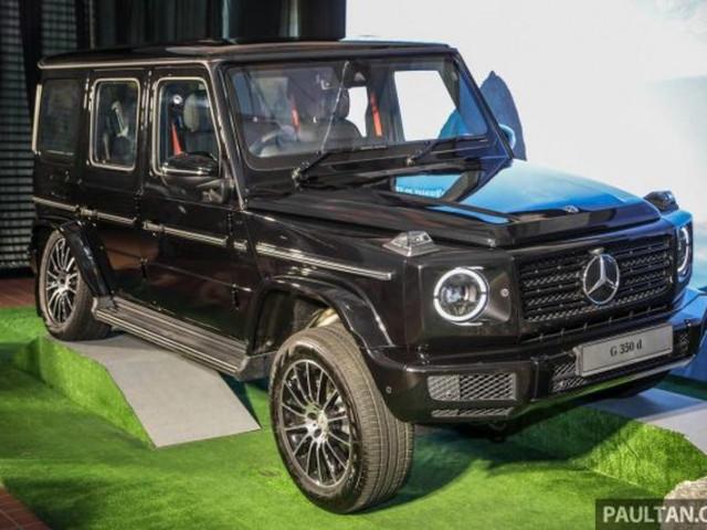 """Mercedes-Benz G350d - """"vua địa hình"""" giá rẻ nhất - đã về tới Malaysia, dân mê off-road Việt càng mong chờ"""