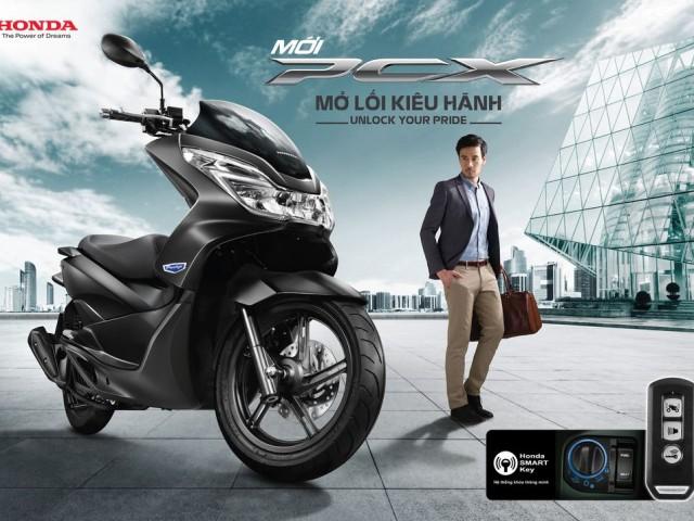 Honda Việt Nam giới thiệu PCX 125cc phiên bản mới giá từ 52 triệu đồng