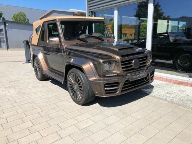 """""""Bí ẩn"""" đằng sau chiếc Mercedes G500 Cabrio Mansory """"Speranza"""" trị giá hơn nửa triệu đô la"""