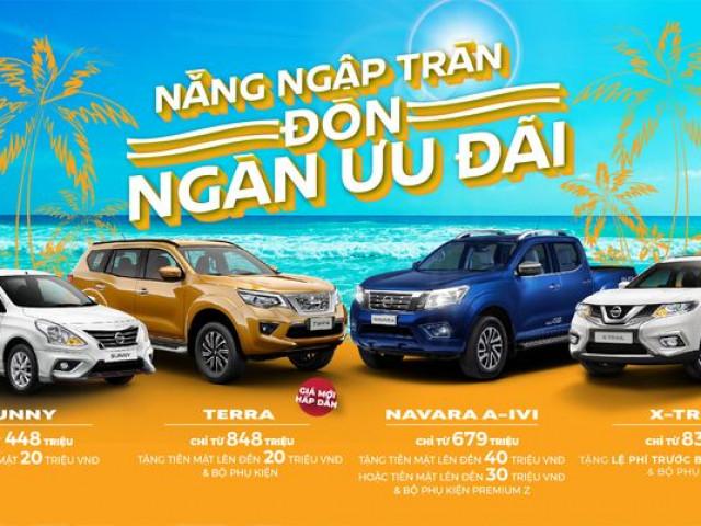Tháng 6/2020: Nissan Việt Nam tiếp tục tung ưu đãi khủng cho khách hàng